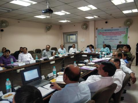 "One day Stakeholder Workshop under PDS ""Impact Assessment of the Upcoming Irrigation Project and Climate Change on the Drought & Densification Scenario for Chambal Basin is Western Madhya Pradesh"" at Bhopal, March 27 2019"