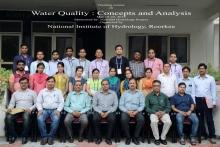 """Training Course on """"Water Quality: Concepts and Analysis"""", 19-23 Mar. 2018, NIH, Roorkee"""